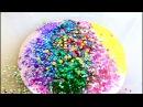 Glitter Slime Making Most Satisfying Slime ASMR Video 6