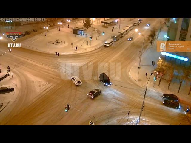 ДТП в Уфе: один из водителей был лишен права управления автомобилем