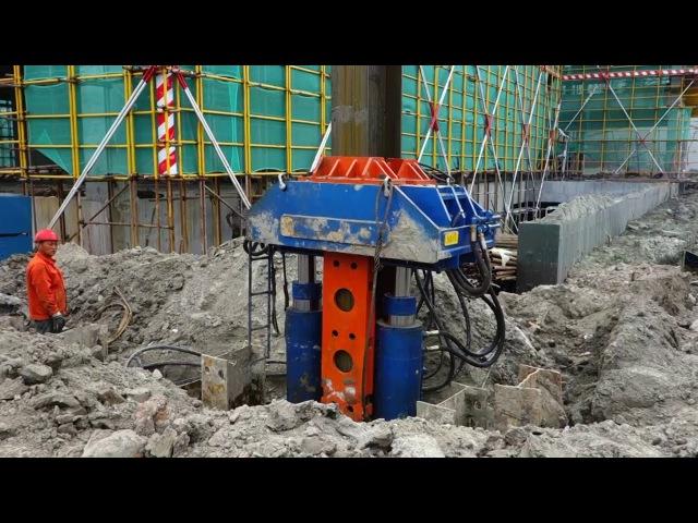 New Design Engineering Equipment Hydraulic excavator parts pile extractor