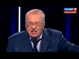 Собчак плеснула Жириновскому водой в лицо. Скандал в прямом эфире!