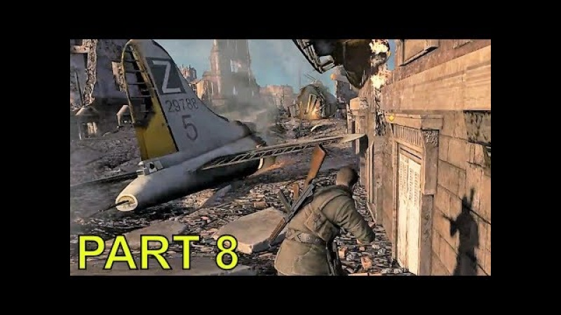 Sniper Elite V2 gameplay walkthrough part 8