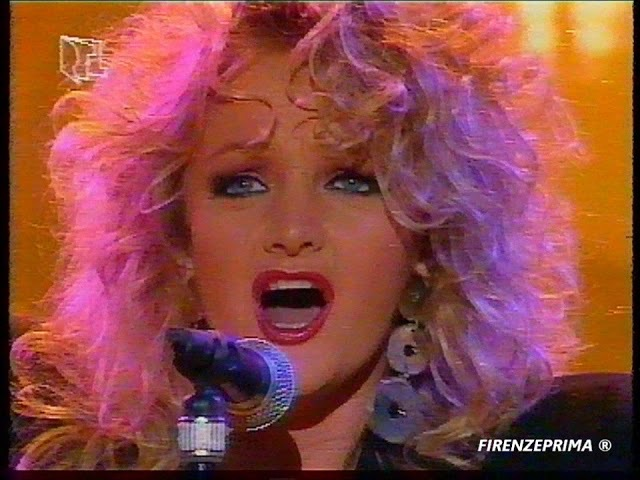 RTL RSH Live Bonnie Tyler - Against the wind - 1991