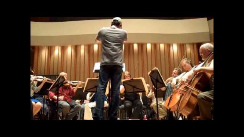 Lost composer Michael Giacchino rehearses with the Lost Live orchestra.mp4