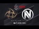 NiP vs Team EnVyUs - ELEAGUE Premier 2017 - map1 - de_cobblestone [ceh9, MintGod]