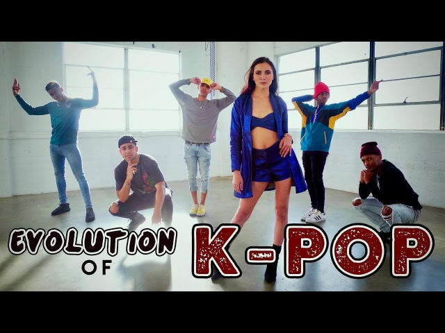 Evolution of K-POP!! (ft. Alyson Stoner Next Town Down)
