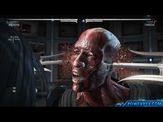 Mortal Kombat X - All X-Rays