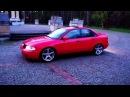 Audi A4 B5 czerwona bepiątka