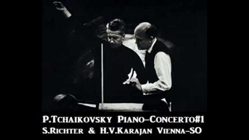 P.Tchaikovsky Piano-Concerto1 [ S.Richter H.V.Karajan Vienna-SO ] (1962)