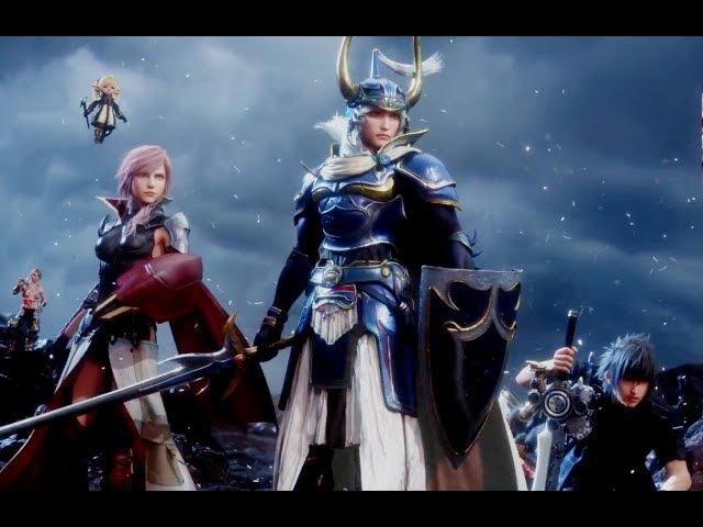 Dissidia Final Fantasy NT All Movie Cutscenes JAP