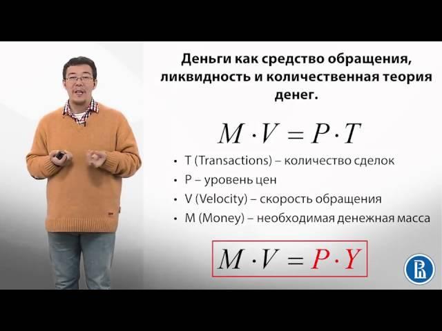 9 6 Количественная теория денег Монетизация экономики