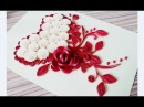 DIY Paper quilling Flower Card Design 33 Quilling Heart Quilling love