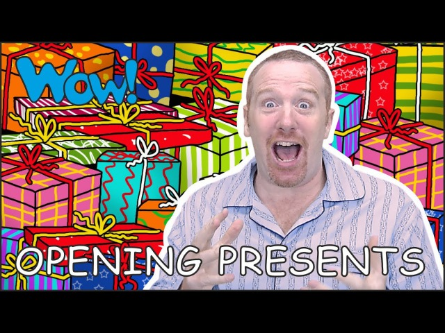 Opening Christmas Presents with Steve and Maggie | Stories for Kids | Speaking Wow English TV