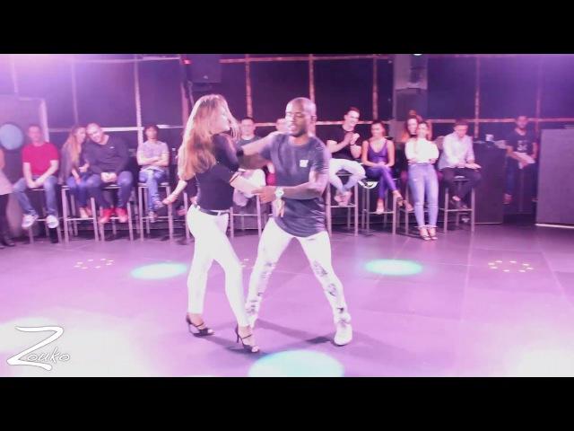 William dos Santos Natasha Terekhina - Brazilian Zouk demo performance