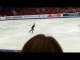 Alina Zagitova Sp PRACTICE 20/03/2018 WORLD FIGURE SKATING CHAMPIONSHIPS 2018 MILAN LADIES