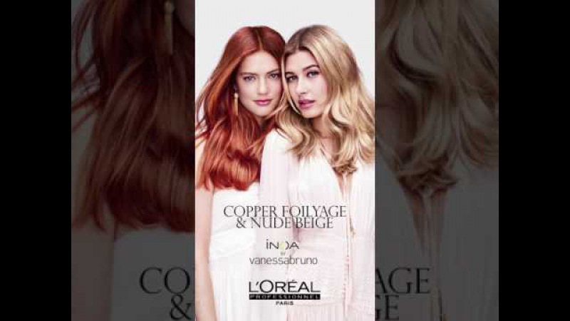Hailey Baldwin Emmy Rappe reveal the SS 2017 Hair Trends by L'Oréal Professionnel