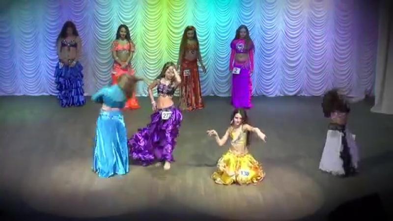 Belly Dance Improvisation ☀ Semifinal Solo ☀ Girls 14-15 yrs ☀ Ukraine Oryantal 19201