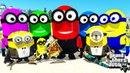 МИНЬОНЫ НАПАЛИ НА ГОРОД ЛОС САНТОС В ГТА 5 МОДЫ! ОБЗОР МОДА GTA 5 видео игра как мультик для детей