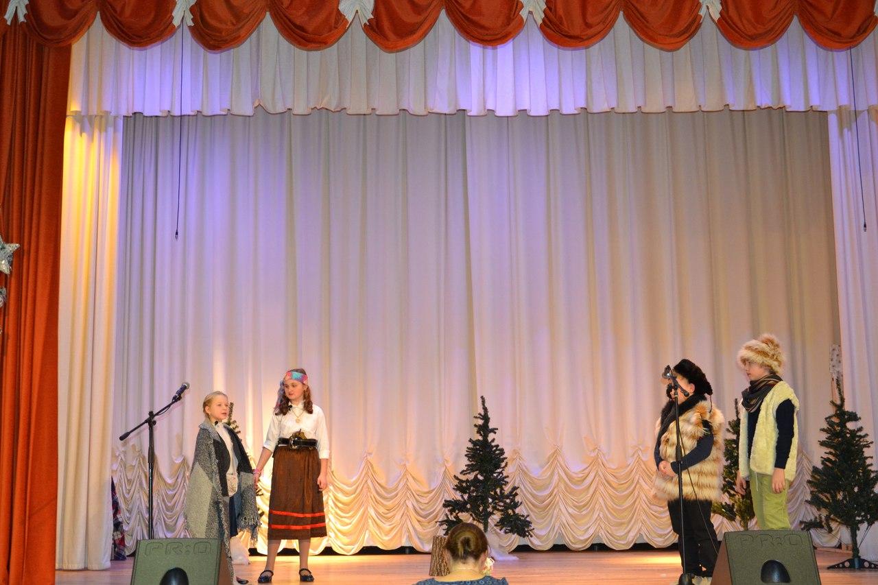 Рождественский спектакль в Пансионате ветеранов труда №1