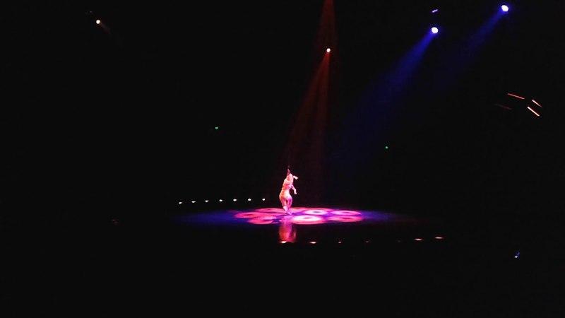 Cirque Du Soleil Volta (hair hanging performance) 🎪