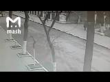 Видео нападения на Храм в Кизляре.