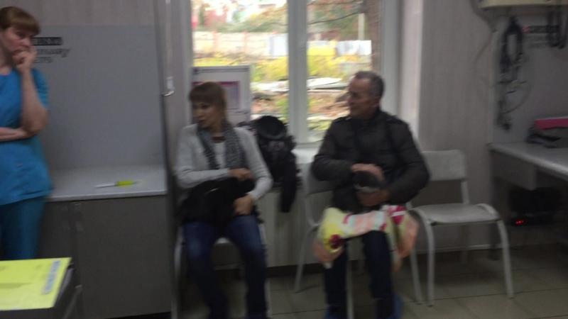 Отрывок с приема у Терапевта в Ветеринарной Клинике АЙБОЛИТ в Самаре
