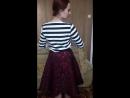 Одежда от Рогова. Толстовка в полоску, юбка с жаккардовым рисунком, топ, юбка-гофре