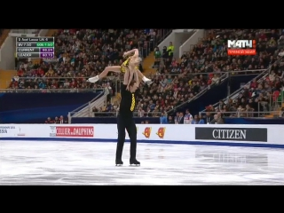 Евгения Тарасова и Владимир Морозов чемпионы Европы по фигурному катанию 19.01.18