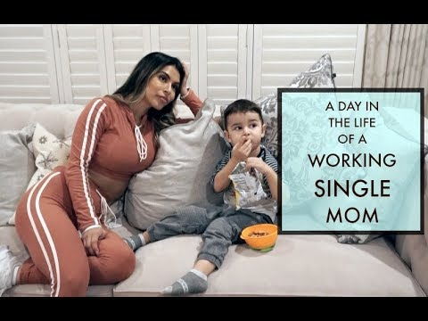 A DAY IN THE LIFE OF A TODDLER A SINGLE WORKING MOM