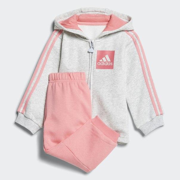 Флисовый спортивный костюм 3-Stripes Hooded
