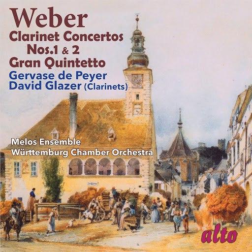 Carl Maria Von Weber альбом Weber: Clarinet Concertos Nos. 1 & 2; Gran Quintetto