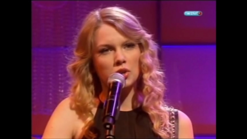 Taylor Swift - Love Story (Live on Loose Women, 2009)