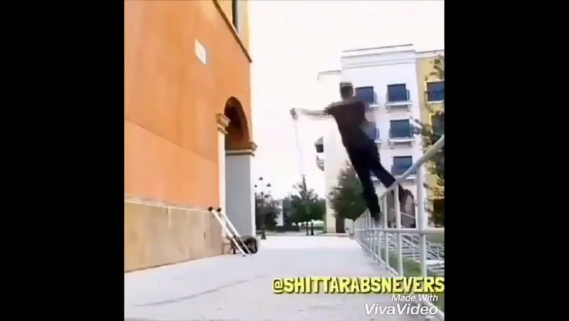Супер трюки прыгуна