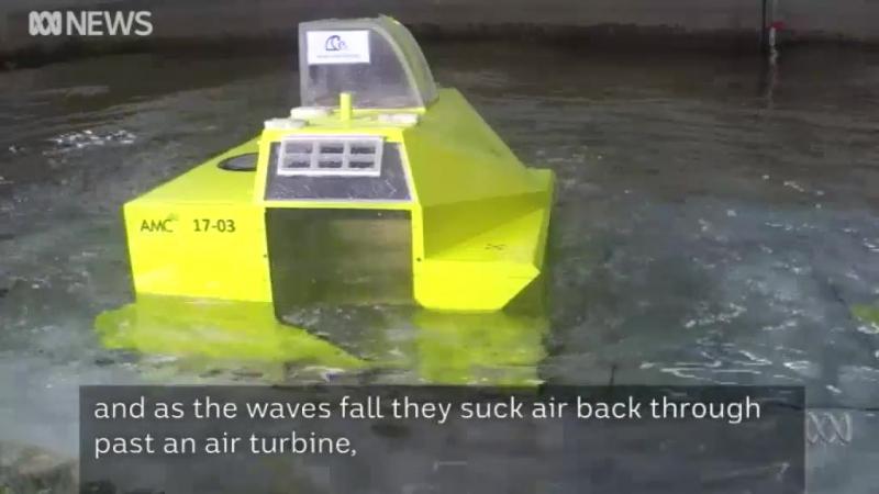 Осциллирующая водяная колонна Wave Swell Energy ...