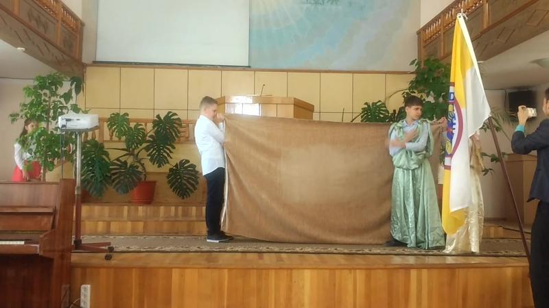 Сценка Есав и Иаков Кишинев 1 АСД