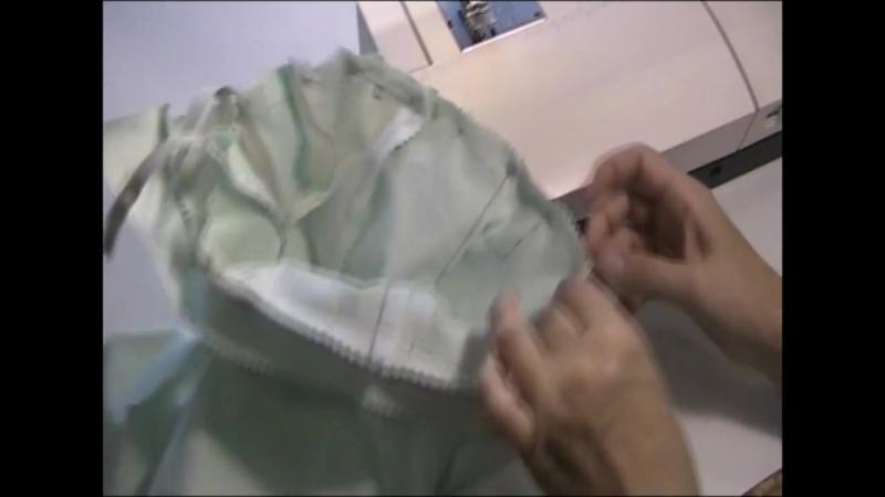 8.Пояс на брюках с заниженной талией, шлевки, обработка низ (сжатый)