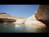 Cliff Slip and Slide! 50 Feet! In 4K