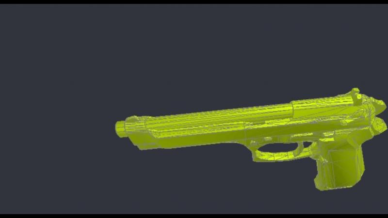 Berreta FS new model for 3ds max