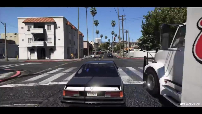 GTA Workshop GTA 6 Photorealistic Graphics NaturalVision ✪ Remastered REDUX ENB Gameplay PC 60FPS GTA V MOD