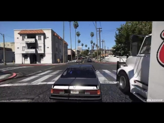 [GTA Workshop] GTA 6 - Photorealistic Graphics NaturalVision ✪ Remastered & REDUX ENB - Gameplay PC 60FPS GTA V MOD