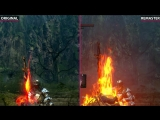 Dark Souls – Original (Prepare To Die Edition) vs. Remastered both on PC Graphic