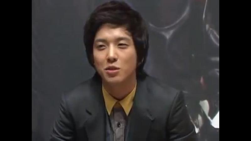 [20090924] drama Youre beautiful press conference ~ Yonghwa