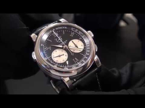 A Lange Sohne Double Split Rattrapante Flyback Chrono Platino | WatchesGMT