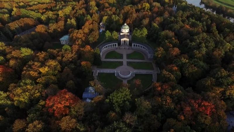 Осенняя палитра усадьбы Архангельское