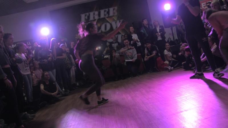 Free Flow Fest 2017. Dancehall pro 14. Kostyan vs. Гущин