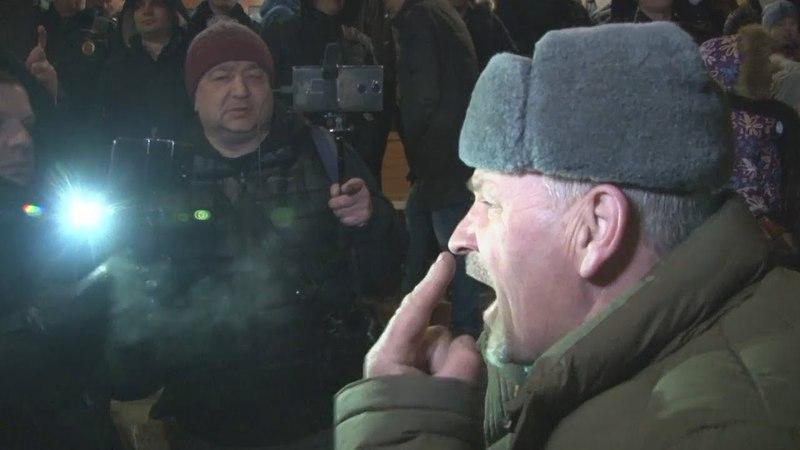 поносят Путина на мусорном митинге в Волоколамске / Ядрово