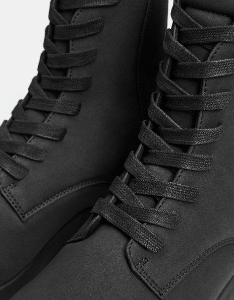 Однотонные мужские спортивные ботинки
