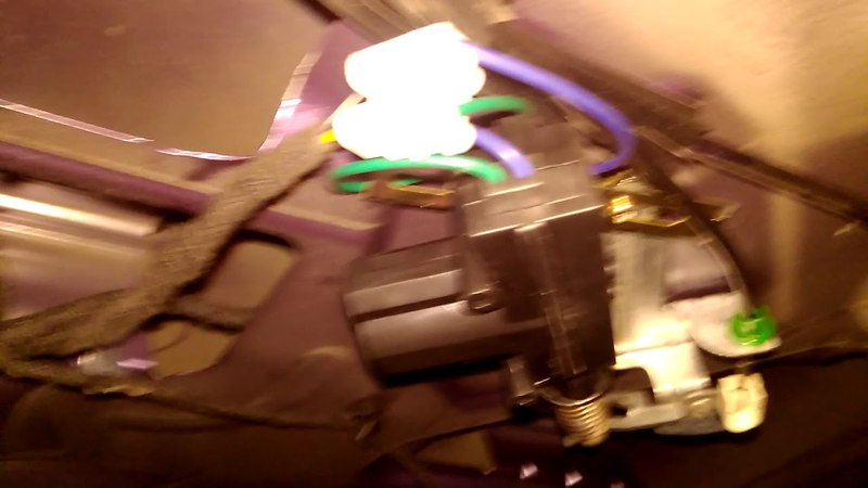 Ремонт актуатора моторчика открывания задней двери Ford fusion Форд фьюжн