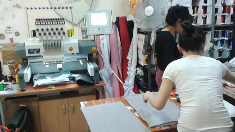 Вышивальная машина ZSK