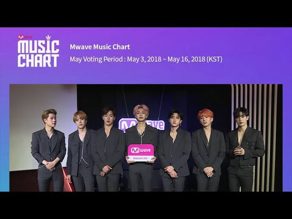 [Mwave Music Chart] Messages from May Nominee Artists : MONSTA X, SF9, THE BOYZ