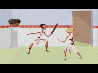 Жизнь подростка в Древнем Риме [Ted Ed]